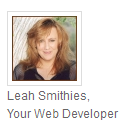 Leah Smithies Your Web Developer